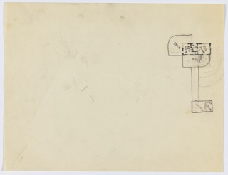 Drawing, Richard H. Mandel House: Plan, 1933–35