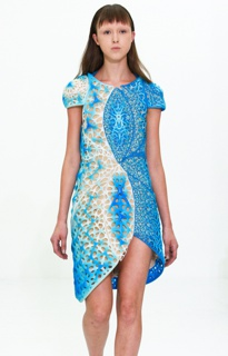 Voronoi Dress, Biomimicry Collection