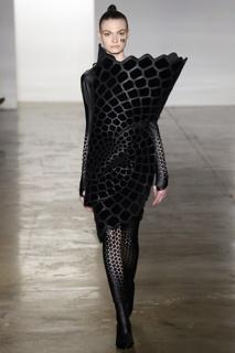 Voronoi Dress, Biomimicry Collection
