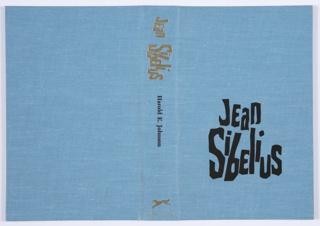 Book Cover, Jean Sibelius