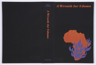 Book Cover, A Wreath for Udomo