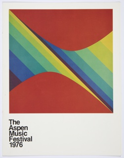 Booklet, The Aspen Music Festival 1976