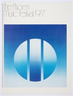 Print, The Aspen Music Festival 1977