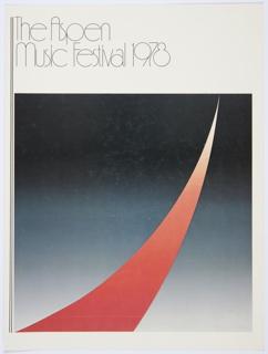 Print, The Aspen Music Festival 1978