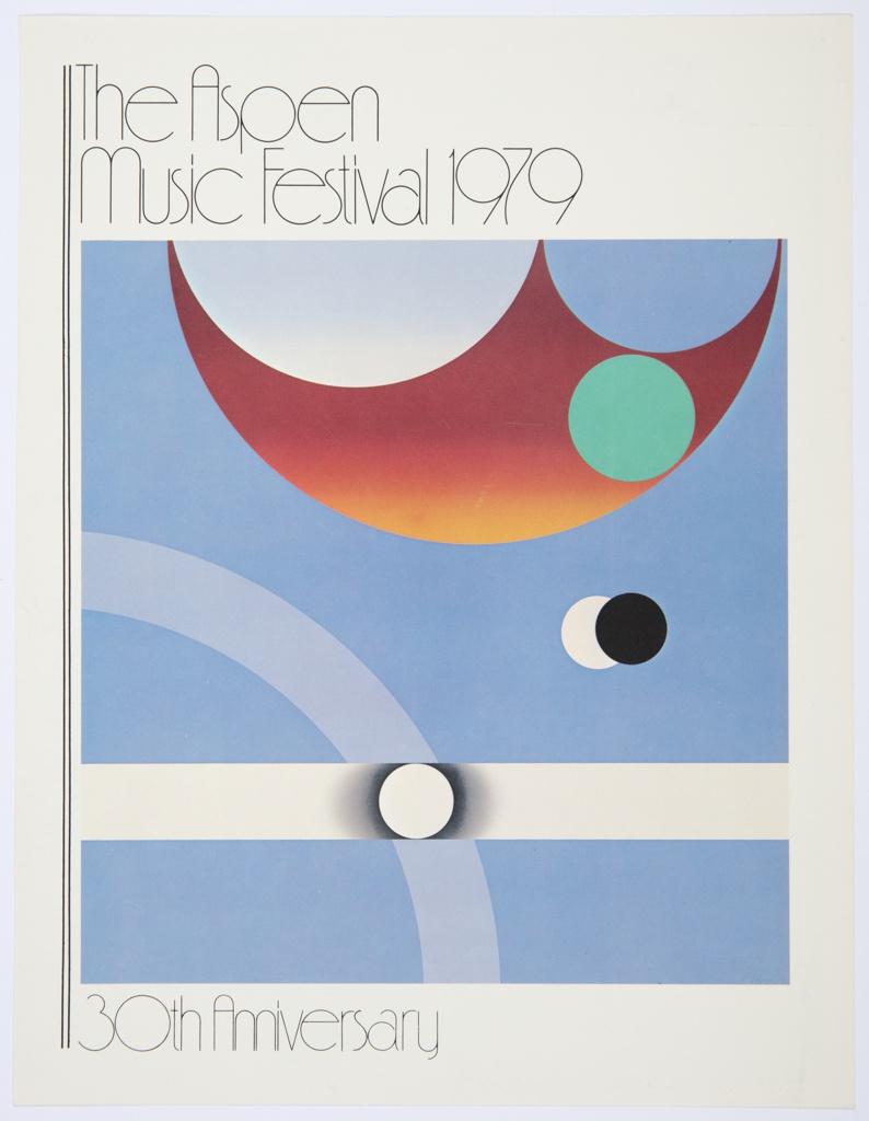 Print, The Aspen Music Festival 1979, 30th Anniversary