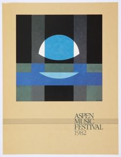 Print, Aspen Music Festival 1982