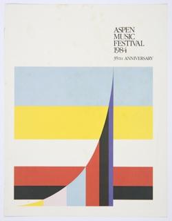 Print, Aspen Music Festival 1984, 35th Anniversary
