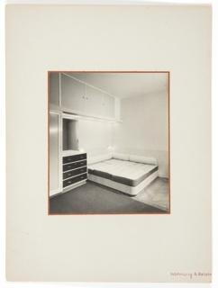 Photograph, Bedroom Interior, A. Reiser Apartment, Prague