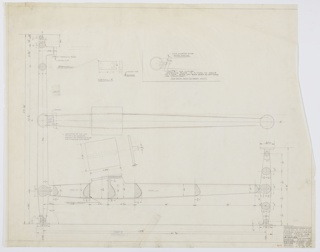 Drawing, Design for Short Frame for Sofas, Loveseats, and Chairs, July 9, 1957