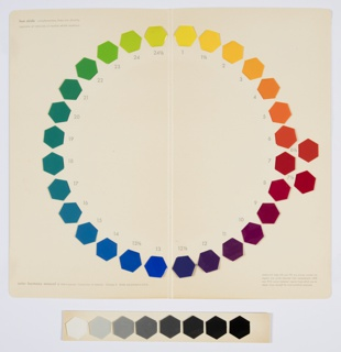 Book, The Color Harmony Manual and How to Use It, 1946