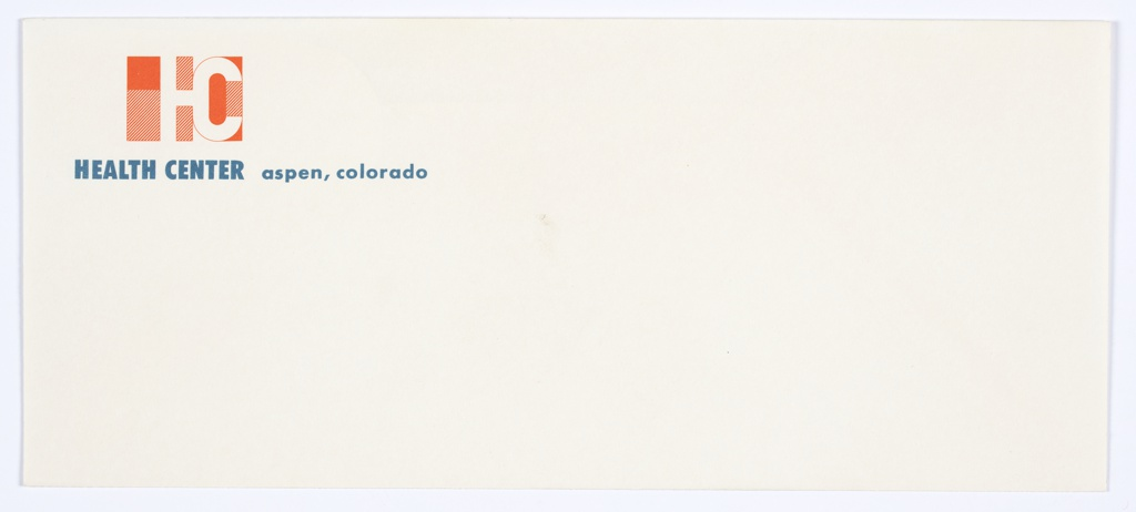 Envelope, Health Center, Aspen, Colorado