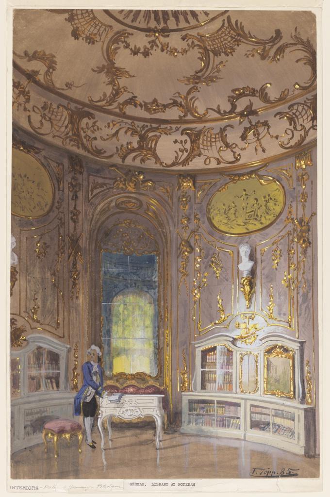 Drawing, Library at Potsdam