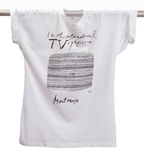 T-shirt, 14th International TV Symposium, 1984
