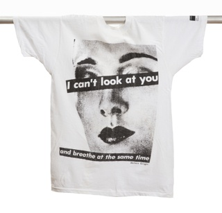 T-shirt, I can't look at you and breathe at the same time, 1984