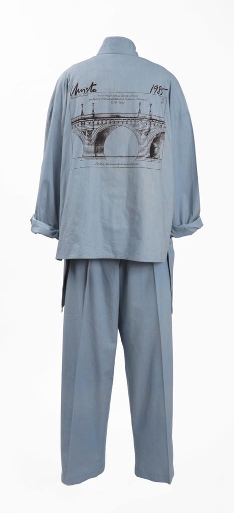 Uniform Shirt, The Pont Neuf Wrapped, 1985