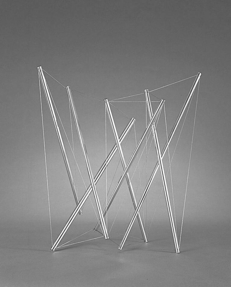 """Sculpture, Model for """"Greene Guide"""", 1975"""