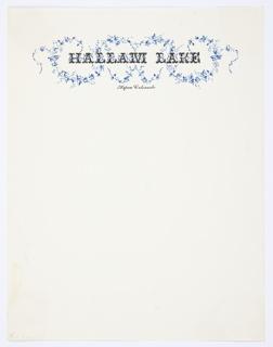Stationery, Hallam Lake, Aspen, Colorado