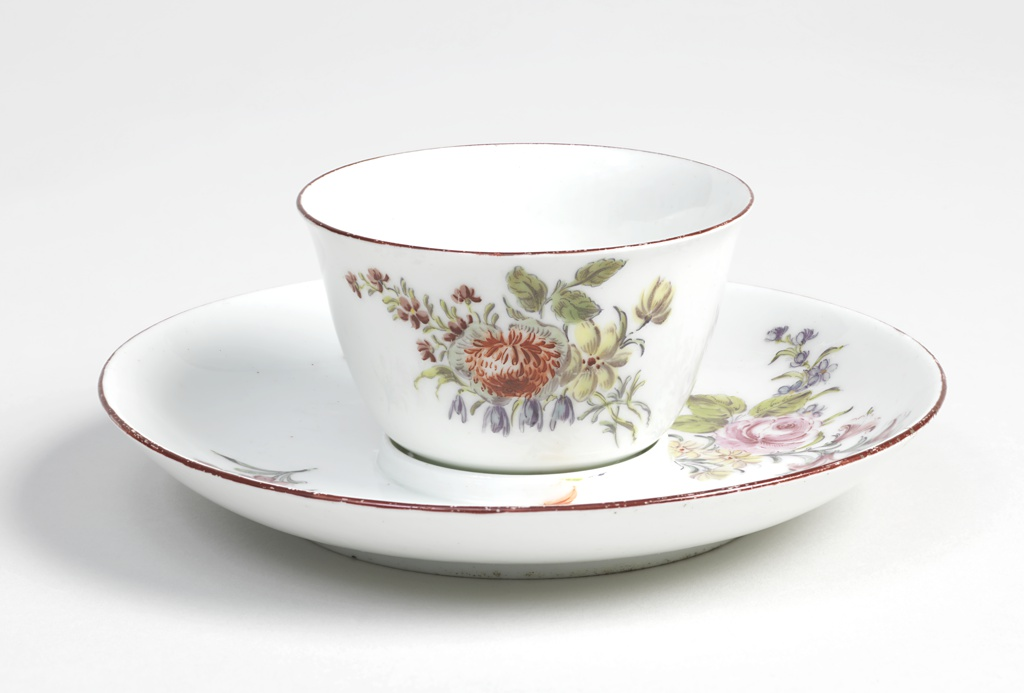 Tea Bowl with Fitted Saucer Tea Bowl And Saucer