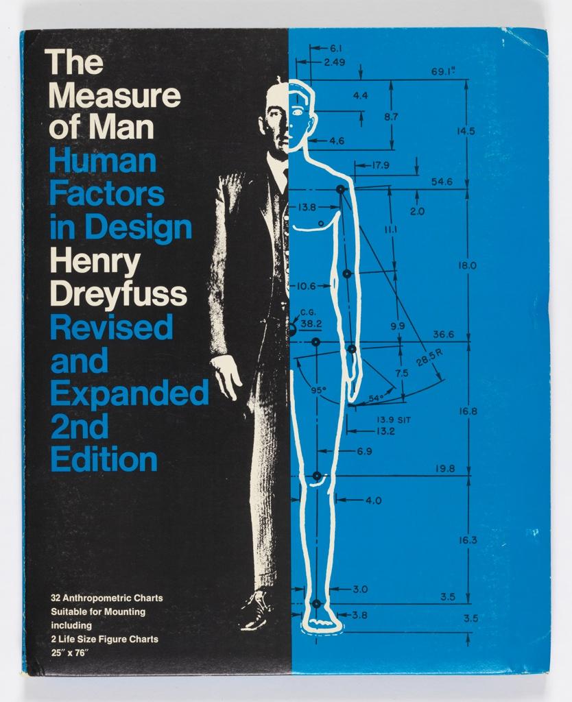 Book, The Measure of Man: Human Factors in Design, 1969