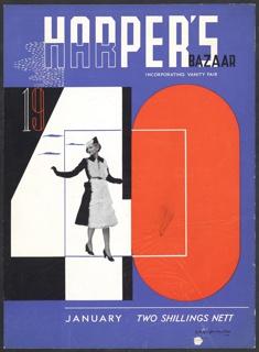 Print, Harper's Bazaar, January 1940