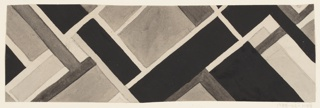 Drawing, Textile Design: Ziprian, 1924