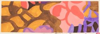Drawing, Textile Design: Sommerabend (Summer Evening), 1910–16