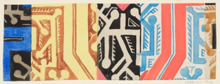 Drawing, Textile Design: Thymian