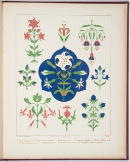 Floriated Ornament: A Series Of Thirty-One Designs, 1849