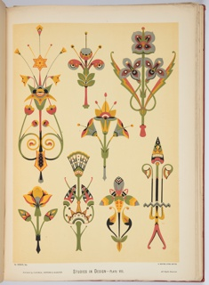 Studies In Design, Book, 1876