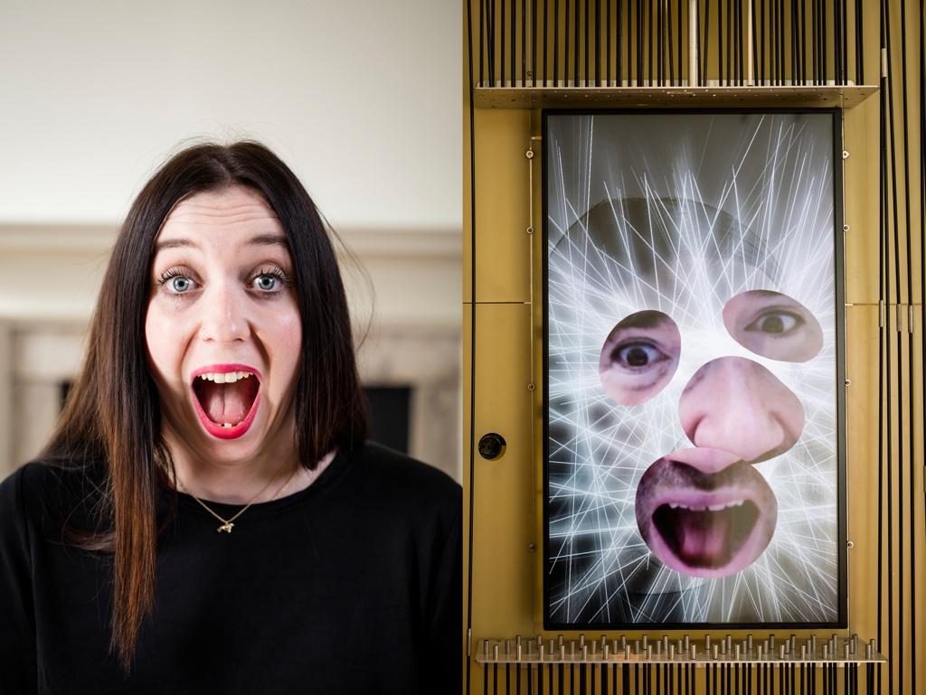 Interactive Installation, Expression Mirror