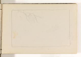 Sketchbook Folio, Unfinished Contours of Cliffs, 1870–85