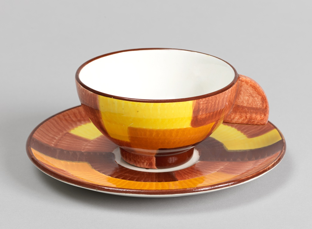 """Cup and Saucer (Shape number 3214, """"Gobelin 13"""" decoration) Cup And Saucer"""