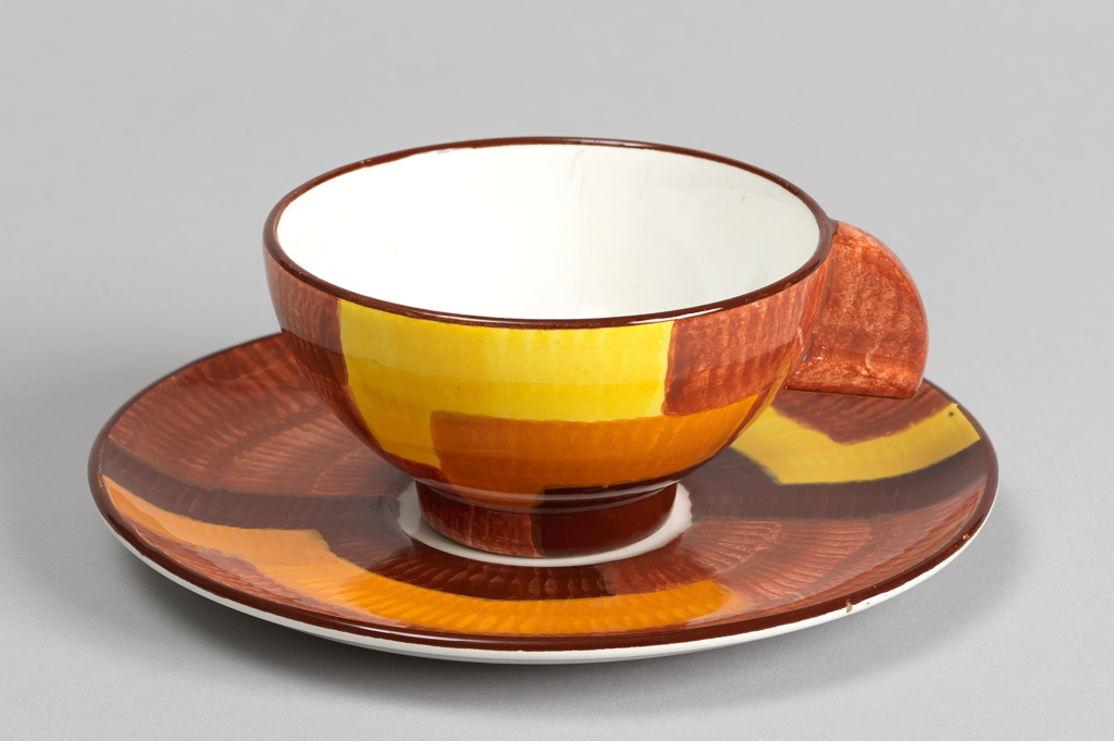 "Cup and Saucer (Shape number 3214, ""Gobelin 13"" decoration) Cup And Saucer"