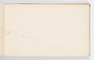Sketchbook Folio, Sketchbook Page: Landscape