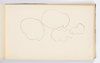 Sketches of four rounded shapes.