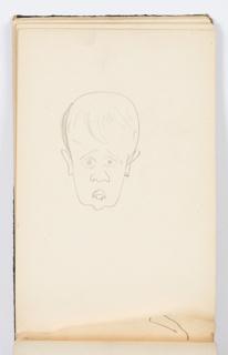 Sketchbook Folio, Sketchbook Page: Head