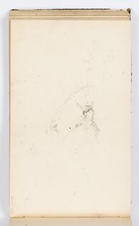 Sketchbook Folio, Sketchbook Page: Man's Face
