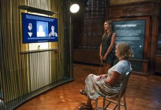 Interactive Installation, Expression Portrait