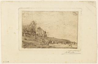Print, Le jeu de quilles a Montmartre