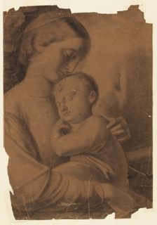 Drawing, Madonna and Child