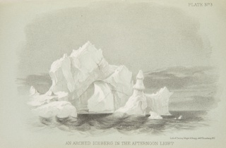 Book, After Icebergs with a Painter: A Summer Voyage to Labrador and around Newfoundland, 1861