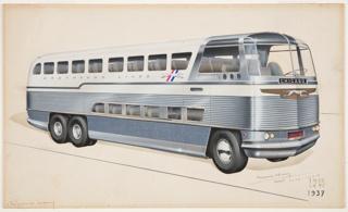 Drawing, Design for Highway Traveler