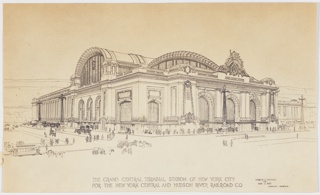 Print, The Grand Central Terminal Station of New York City