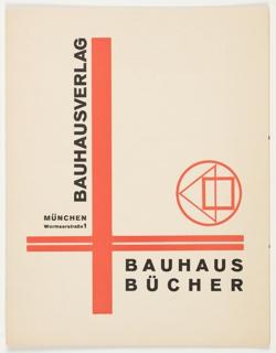Prospectus, Bauhaus Bücher (Bauhaus Books], 1924