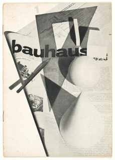 Magazine, Bauhaus: Zeitschrift fuer Bau und Gestaltung (Journal of Construction and Design), Year 2, No. 1