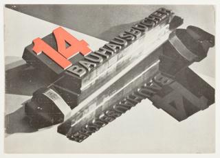 Catalog, Bauhaus Bücher (Bauhaus Books) 14, 1928