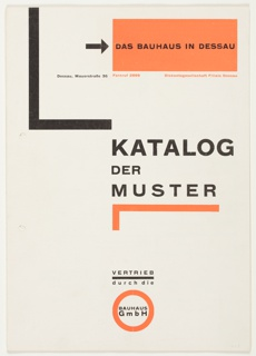 Catalog, Katalog der Muster (Catalog of Samples), 1925