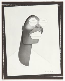 Caricature Of Willi Smith For Invitation