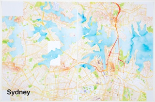 Print, Sydney, from Watercolor Maptiles