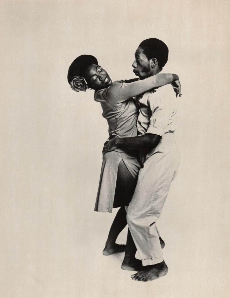 Publicity Photograph Of Bernadine Jennings And Leon Von Brown, 1975